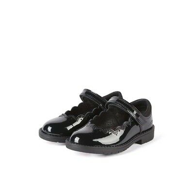 YouGirls Kickers Lachly T Patl Youth Black Patent Mary Jane School Shoes Size