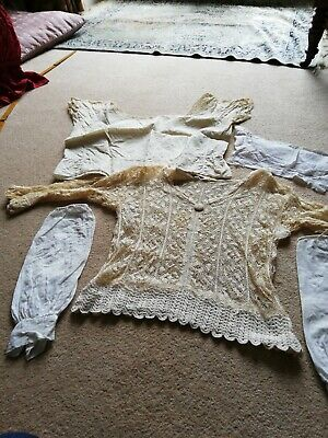 Antique Lace And Silk Clothing