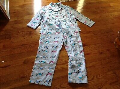 3d64aa99be99 NOIRE JASMINE ROSE Pajama Top Womens Pink Snowflake All Over Sz ...