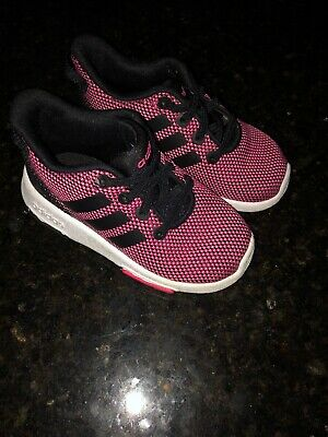 97b68e9ff93 ADIDAS NEO SHOES Baby Girl Pink Size 6