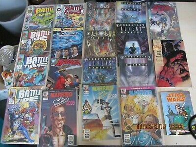 marvel etc comics job lot