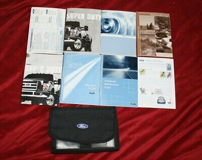 2009 f250 owners manual