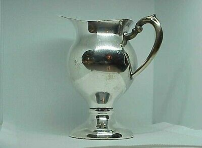 Colonial Cream WATER Pitcher ~ Silver Plate ~ Polished & Ready to go ~ No mono