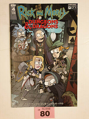 Rick And Morty Vs Dungeons & Dragons #4A NM FIRST PRINT Oni IDW Rothfuss Zub DnD