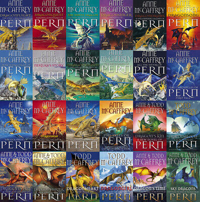 The DRAGONRIDERS OF PERN Series By Anne McCaffrey (29 MP3 Audiobook Collection)