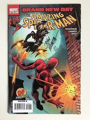 The Amazing Spider-Man Vol. 1 #549 Dynamic Forces Variant Signed John Romita Sr
