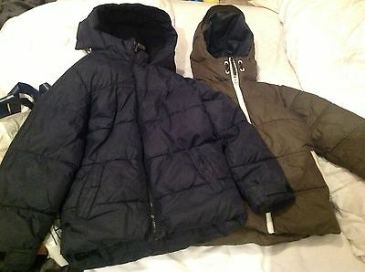 2 x next childs jackets in very good condition 8 years old 128cm height bargain
