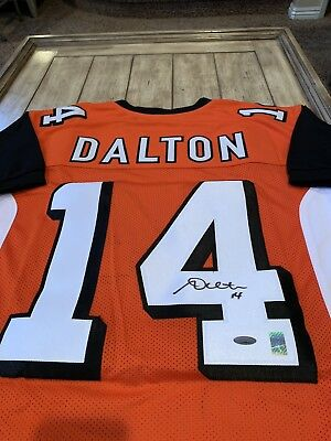 Cheap ANDY DALTON AUTOGRAPHED Cincinnati Bengals Custom Jersey $90.00  for sale