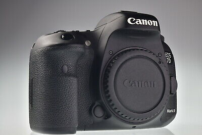 Canon EOS 7D Mark II 20.2MP Digital Camera Body Shutter Count 29534 Excellent