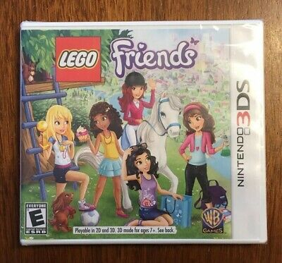Lego Friends Nintendo 3ds 2ds 2013 Game Case And Manual