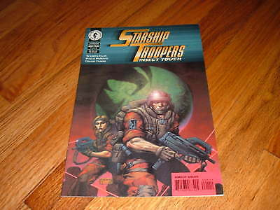 Starship Troopers Insect Touch Comic Book #1 1997 VFNM