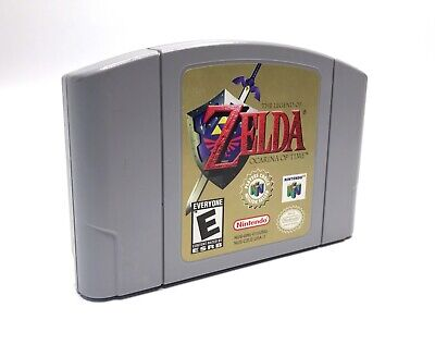 Legend of Zelda Ocarina of Time Nintendo 64 N64 Authentic Cartridge Only tested