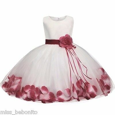 Desiree Baby Girl Formal Dress Christening Wedding Party Pageant Gown Bridesmaid