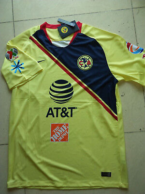 587d0bd7530 2018-2019 Club America Home Away Soccer Jersey And the LIGA MX patch size