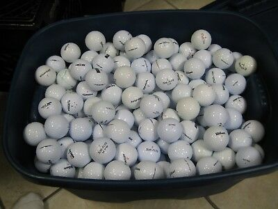 100 Used golf balls in Mint/Near Mint Condition with FREE SHIPPING