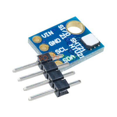 Si7021 Industrial Humidity Sensor High Precision I2C Interface for Arduino