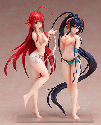 High School DxD BorN Rias Gremory Himejima Akeno Swimsuit 15CM PVC Figure NoBox