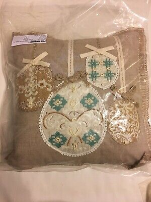 Pier One Imports Natural Elegant Egg Pillow Never Opened