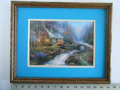 Amazing Thomas Kinkade Twilight Cottage 16X20 A P Canvas Ltd Home Interior And Landscaping Ologienasavecom