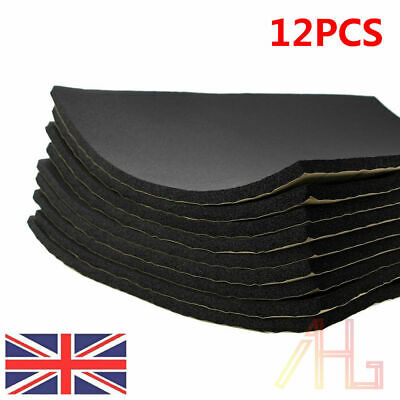 12 Sheet Car Van Sound Proofing Deadening Insulation Closed Cell Foam 10mm UK
