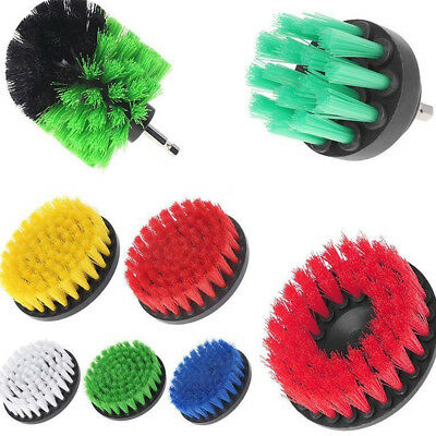 Drill Brush Power Scrubber Cleaning Scrub Bit Pad Tile Clean Tool Supplies
