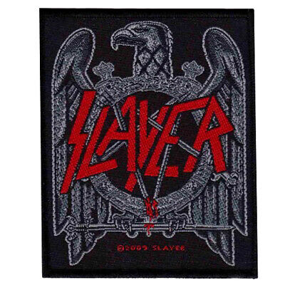 Slayer Black Eagle Patch Official Thrash Heavy Metal New
