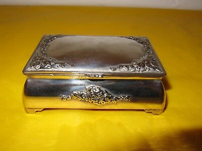Vintage Silver Plated box used ,  (without hallmark)