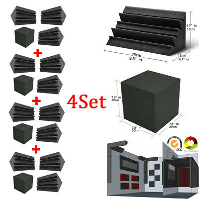Bass Trap Foam Wall Corner Sound Absorption Studio Accessorie Acoustic Treatment