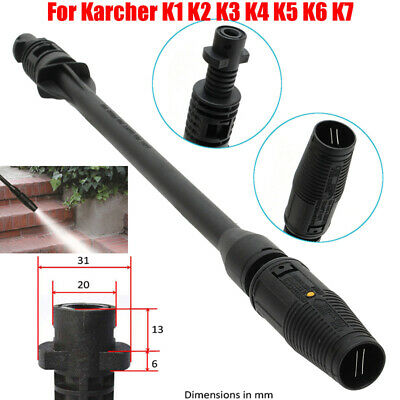 Car Washer Jet Lance Nozzle Plastic BLACK for Karcher K1-K7 High Pressure Washer