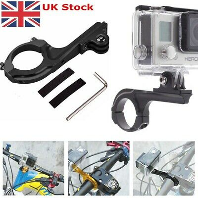 Bike Bicycle Handlebar Pole Bar Aluminium Mount Adapter for GoPro Hero 2 3 3+ 4