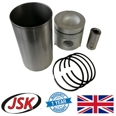 """4.4"""" Liner, Piston, Pin & Rings Ford New Holland 3610 3910 4000 4600 5000 5610"""