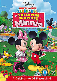 MICKEY MOUSE CLUBHOUSE - A Valentine Surprise For Minnie DVD