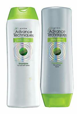 Avon Advance Techniques Daily Shine Range (Shampoo / Conditioner) 200 ml