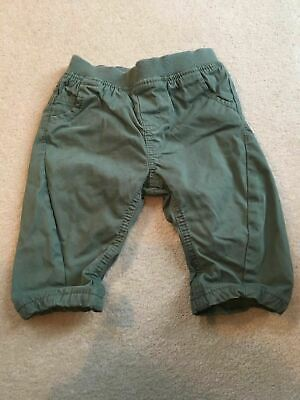 Boys 3-6 Months Next Green Chino Trousers S/No
