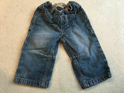 Boys 9-12 Months Next Navy Jeans Trousers S/No