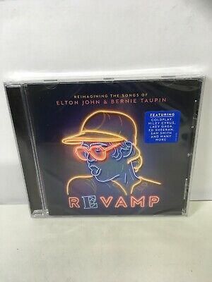 Revamp: Reimagining the Songs of Elton John & Bernie Taupin CD NEW Sealed.