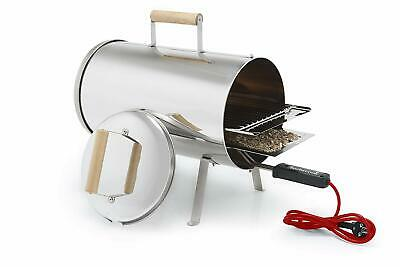 Otto Barbecue Charcoal Electronic BBQ Food Smoker Grill Outdoor Portable Garden