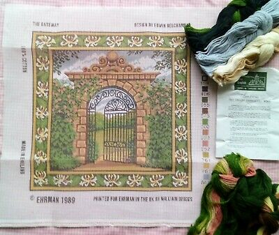 Edwin Belchamber Gateway Ehrman Needlepoint Tapestry Kit Garden Honeysuckle Arch