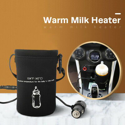 12V Car Carger Baby Milk Bottle Drink Bottle Cup Warmer Heater 40C for Winter