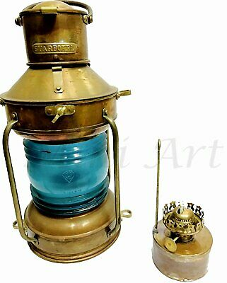 Antique Starboard Marine Nautical Home Décor Lamps & Lighting Ship Lamp ML 049