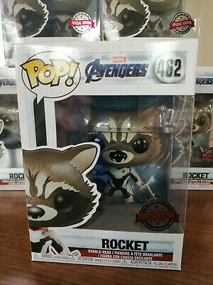 Marvel Avengers Endgame Rocket Exclusive Funko POP! ***In Stock***