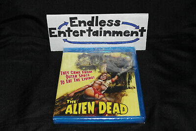 The Alien Dead Blu-ray Brand New Limited to 1000 Signed by Fred Olen Ray OOP!