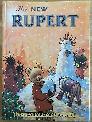 RUPERT ANNUAL 1954  NOT Inscribed NOT Price clipped PAINTING Untouched FINE
