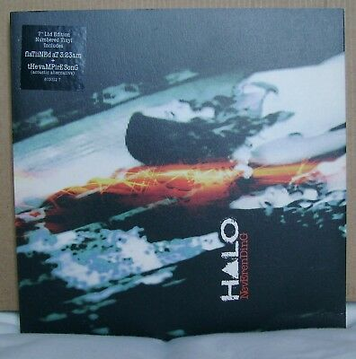 Halo - Never Ending - LTD Numbered Red Vinyl - Unplayed - 7 Inch