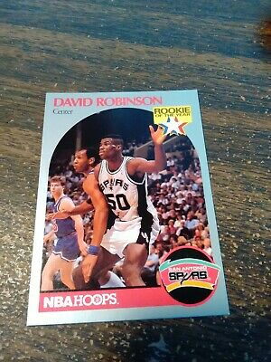 David Robinson 1990 91 Hoops All Star Hand Signed Auto San Antonio