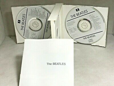 The Beatles The White Album 2 CD With Booklet - Very Good