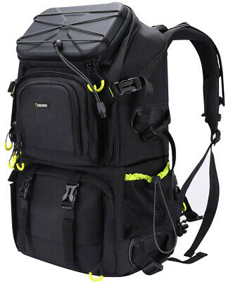 Endurax Extra Large Camera DSLR SLR Backpack For Outdoor Hiking Trekking With