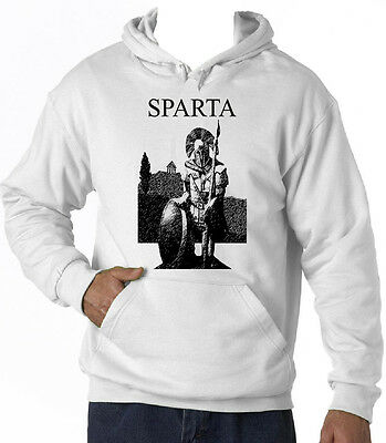 Spartan Warrior Sparta - New Cotton White Hoodie