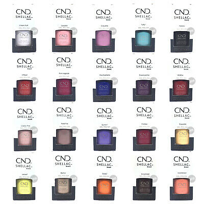 CND Shellac UV GEL Polish 150+ Colours, SWEET ESCAPE, YES I DO, Top or Base Coat