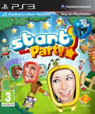 Sony 3 Start the Party! MOVE PS3 9157274